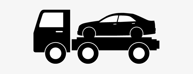 Tow Truck Silhouette At Getdrawings Flatbed Tow Truck Icon Free Transparent Png Download Pngkey