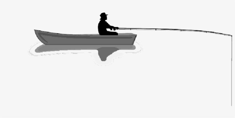 Shark - Fisherman On Boat Png, transparent png #1652496