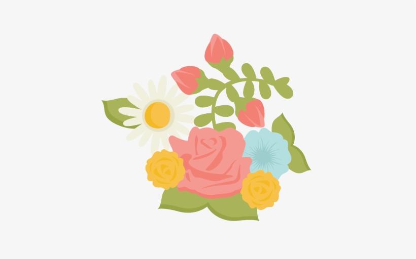 Rose Flowers Svg Cutting File For Scrapbooking Free - Rose Flower Svg, transparent png #1652977