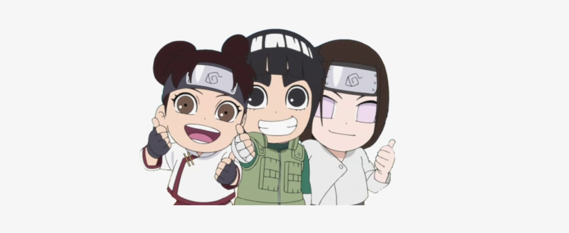 Anime, Naruto, And Rock Lee Image - Rock Lee No Seishun Full Power Ninden Neji, transparent png #1653186