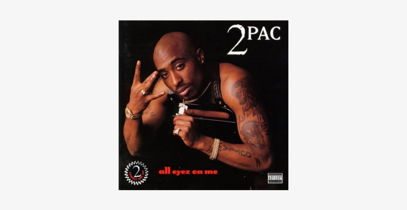 20 Albums Turning 20 - 2pac All Eyez On Me, transparent png #1653468