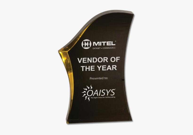 "Acrylic Awards - 8"" Black/gold Luminary Surge Acrylic Award - Brand, transparent png #1654092"