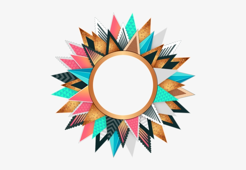 Colorful Circle Design, transparent png #1655209