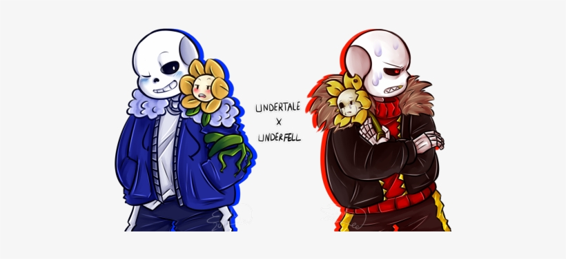 I Found An Old, Unfinished Underfell Fanfic Of Mine - Underfell Sans