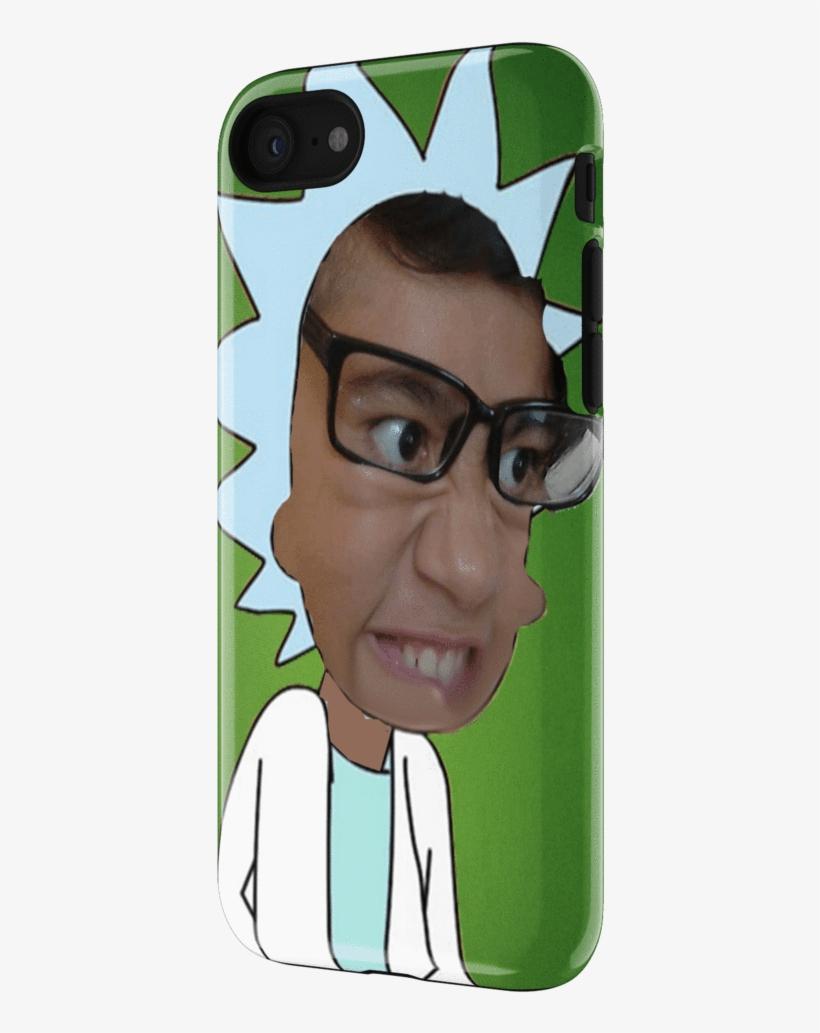 Me As Rick Sanchez Phone Case - Mobile Phone Case, transparent png #1659258