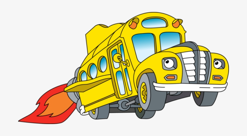 Just Take A Look At The Magic School Bus And Tell Me - Magic School Bus Png, transparent png #1659326