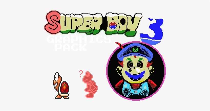 Super Boy 3 Graphics Pack - Super Mario Bros  X - Free