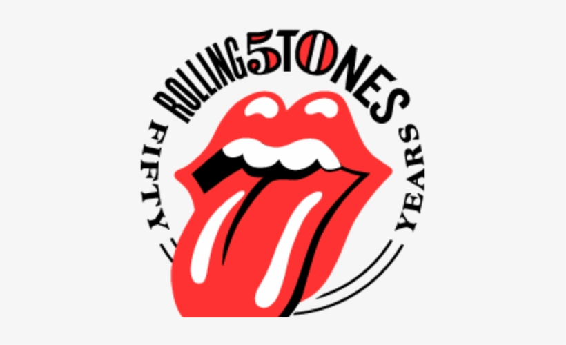 Rolling Stones 50 Years Logo, transparent png #1660017