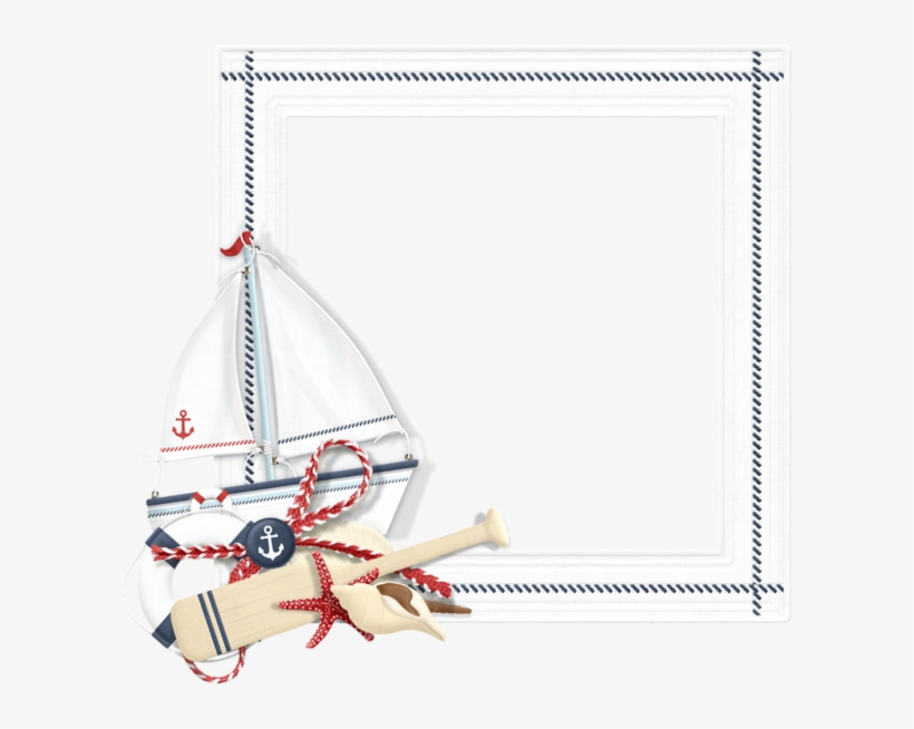 Borders And Frames, Praia Vero, Png Photo, Beach Frame, - Nautical Frames And Borders, transparent png #1660018