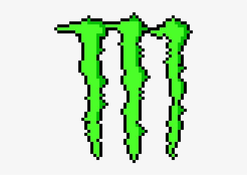 Monster Logo Minecraft Pixel Art Monster Logo Free