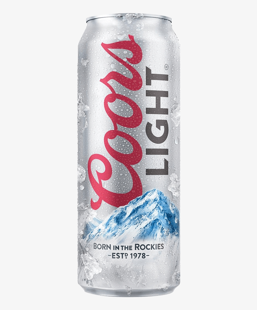Coors Light Coors Light Beer Can Free Transparent Png