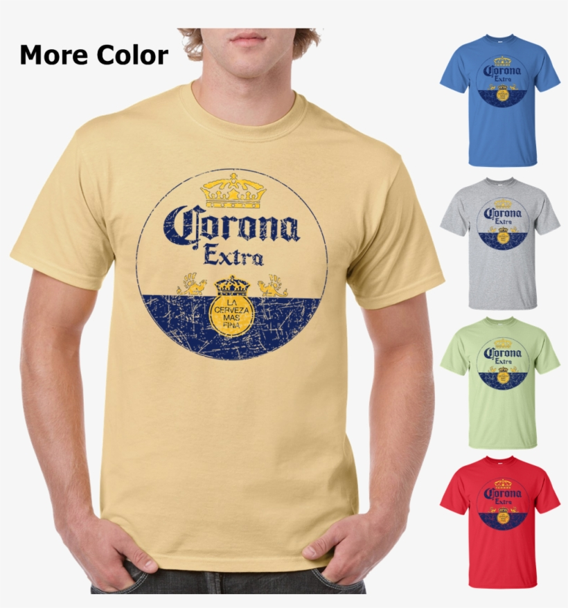 Corona Extra Beer T-shirt - Corona Framed Mirror Wall Plaque 15 X 26 Inches - Can, transparent png #1661171