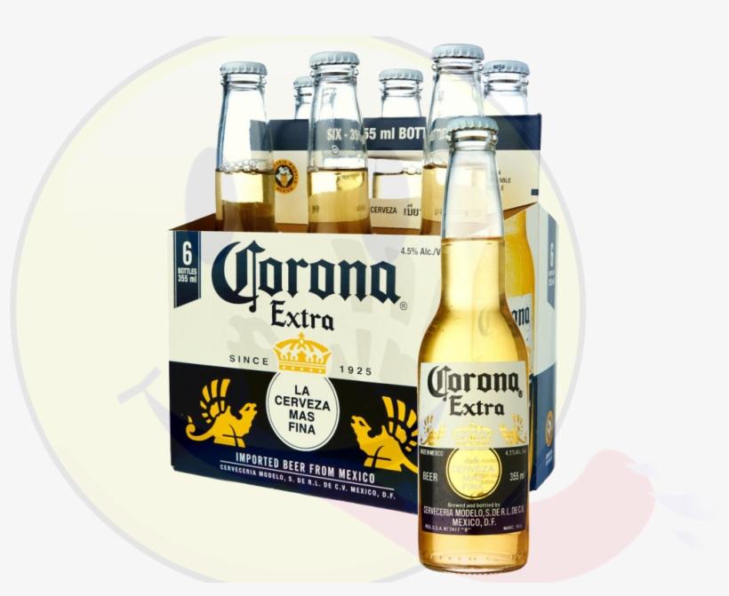 Corona Extra Beer - 24 Pack, 12 Fl Oz Bottles - Free