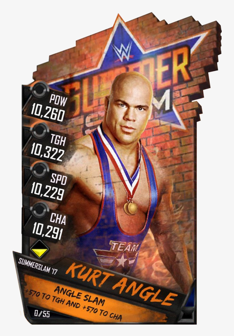 Supercard Kurtangle S3 15 Summerslam17 Halloffame - Wwe 2k18 [xbox One Game], transparent png #1663002
