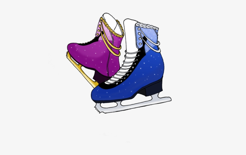 Duetto Stammi Vicino I Just Realized Never - Ice Skates Tumblr Png, transparent png #1664227