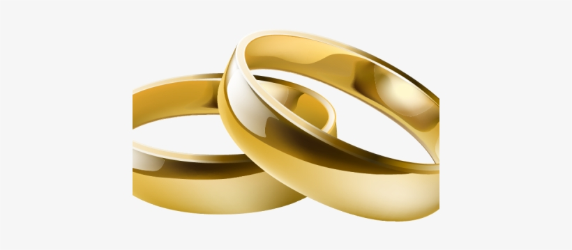 Love Birds Wedding Bands Clip Art , Wedding Ring - Wedding