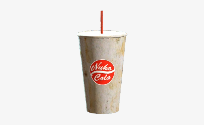 Nuka-cola Cup And Straw - Fallout Pint-glas - 4 - Nuka Cola, transparent png #1666882