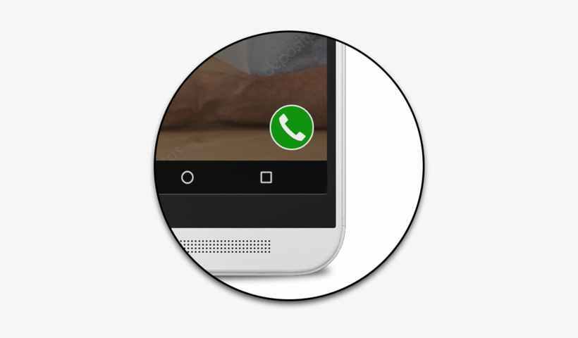 Closeup Of Call Now Button - Wp Call Now Button, transparent png #1667205