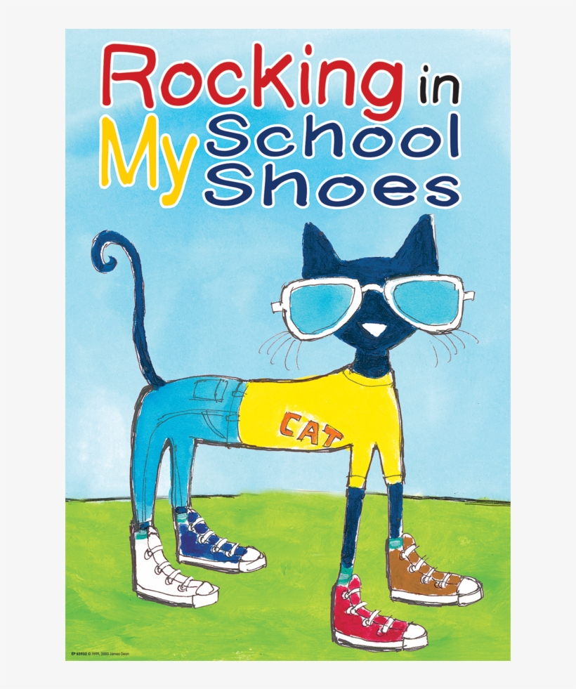 Pete The Cat - Pete The Cat Rocking In My School Shoes, transparent png #1668490