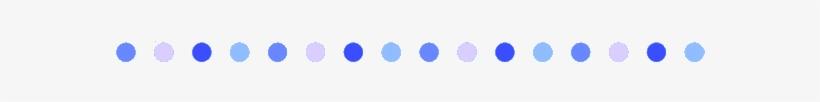 Doot Doot - Line Divider Blue Png, transparent png #1670645