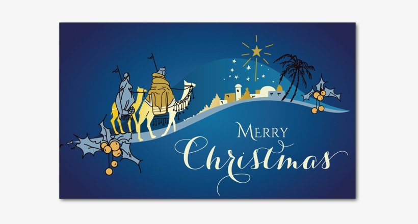 Star Of Bethlehem - Merry Christmas The Three Kings, transparent png #1672318
