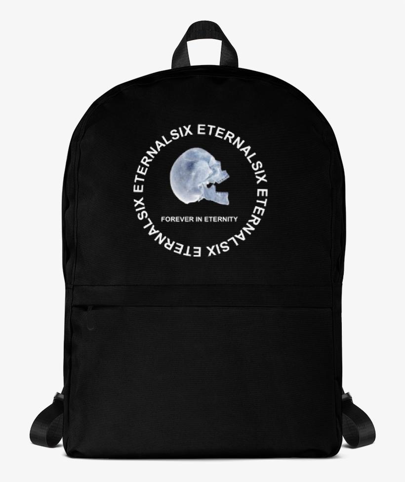 Phenomenal Ice Skull Bag Printful Backpack Free Transparent Png Machost Co Dining Chair Design Ideas Machostcouk