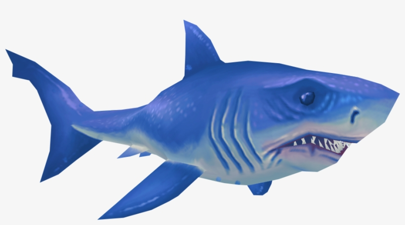 Shark Jumping Out Of Water Png - Great White Shark Png - Free
