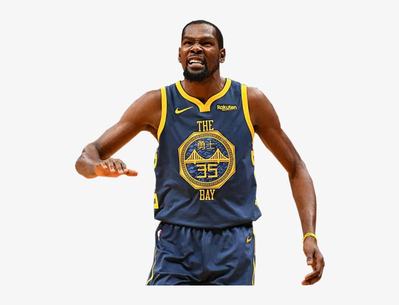 Kevin Durant In The 2018 Golden State Warriors City - Kevin Durant, transparent png #1676026
