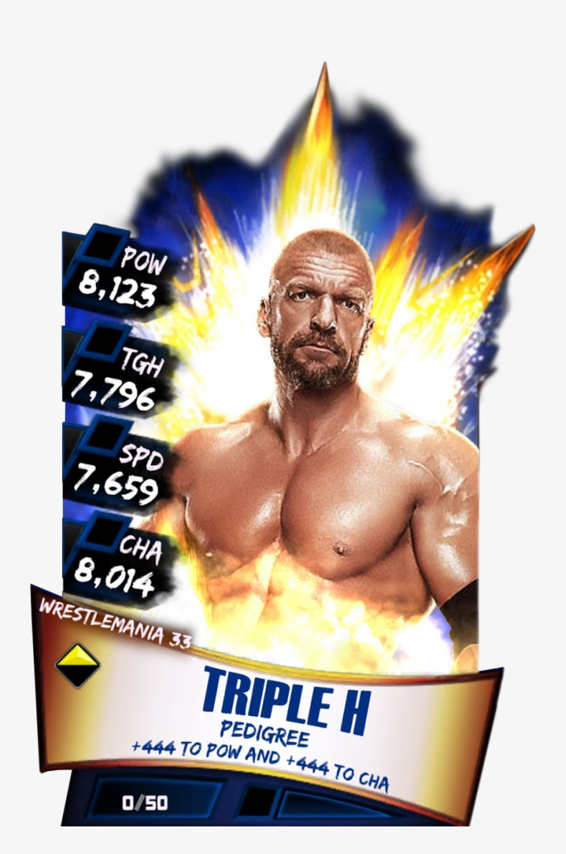 Tripleh S3 14 Wrestlemania33 - Wwe Supercard Wrestlemania 33 Carmella, transparent png #1676381