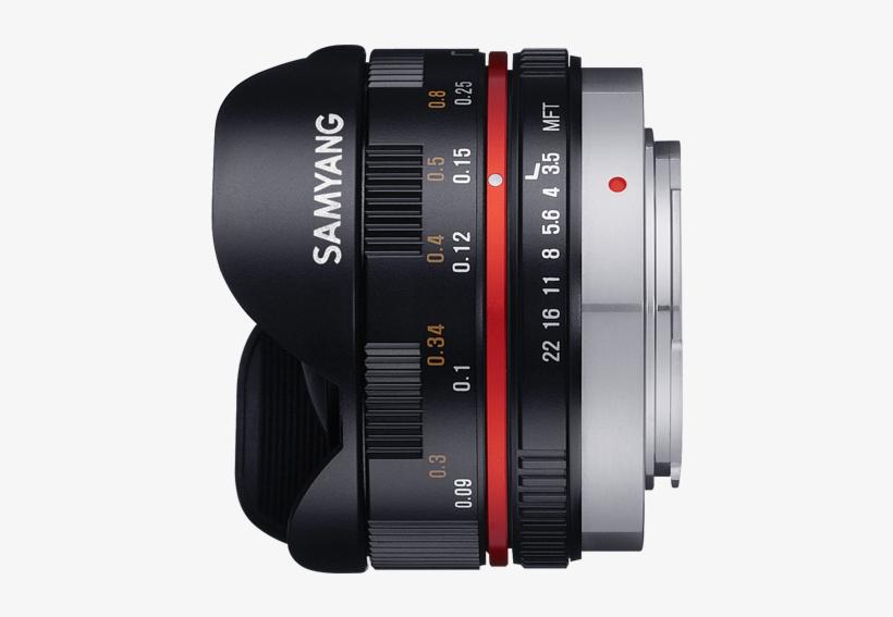 1570249622 - Samyang 7.5mm F3.5 Fish-eyes Lens, transparent png #1676847