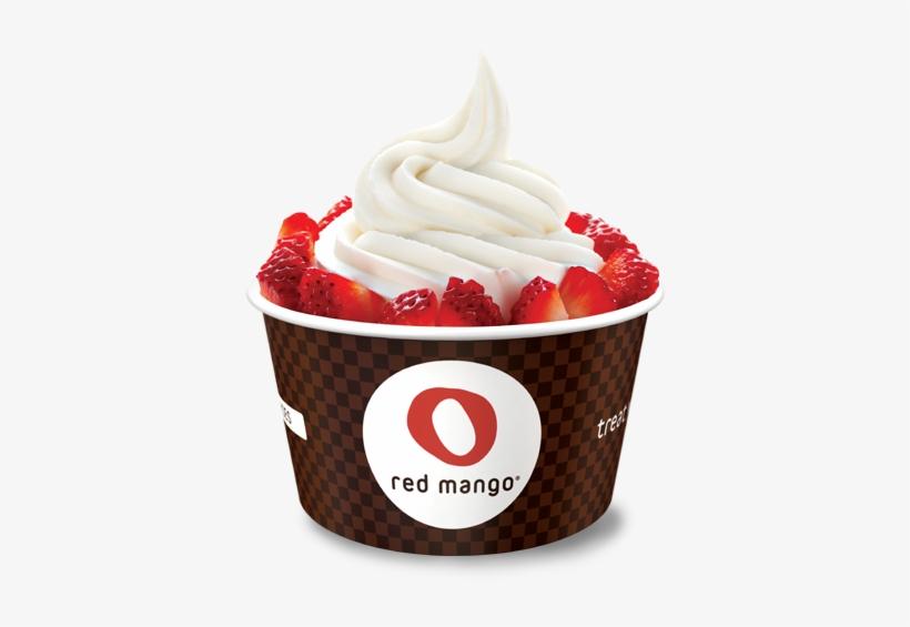 Frozen Transparent Png Pictures - Red Mango Creamy Peanut Butter Frozen Yogurt, transparent png #1677161