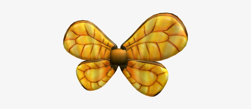 Gold Bee Wings Golden Bee Wings Roblox Free Transparent Png