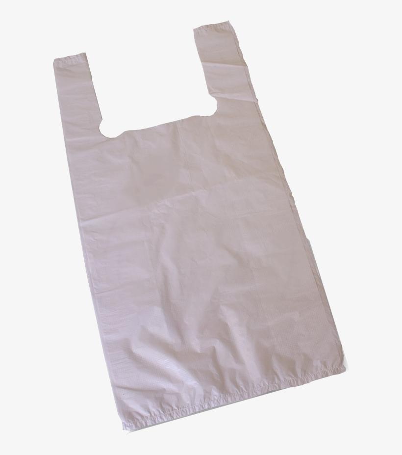 Paper Bags - Plain Plastic Carrier Bags, transparent png #1678252