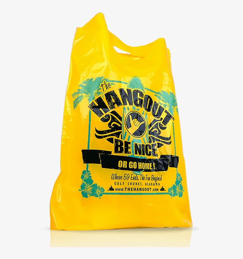 Wholesale Custom Printed Plastic Bags - Plastic Bag, transparent png #1678719