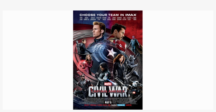 We Created Original Key Art That Reflects The Immersive - Blu Ray Captain America Civil War, transparent png #1679378