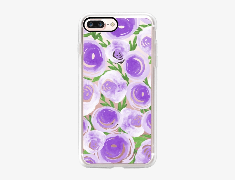 Casetify Iphone 7 Plus Classic Grip Case - Garden Roses, transparent png #1679656