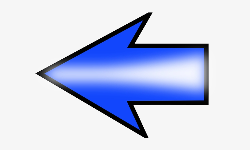 Set, Left, Blue, Arrow, Future, Direction, Color - Left Arrow No Background, transparent png #1680888