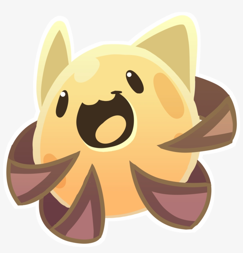 Cute Slime Png - Slime Rancher Silver Slime - Free
