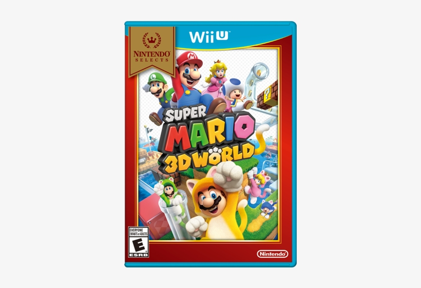 Super Mario 3d World - Wii U - Super Mario 3d World, transparent png #1685143
