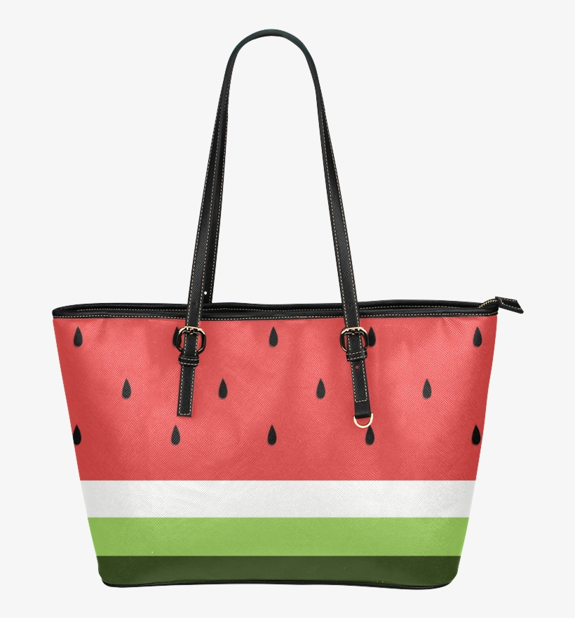 Watermelon Slice Leather Tote Bag - Greyhound Dogs Tote Bags - Greyhound Bags, transparent png #1685197
