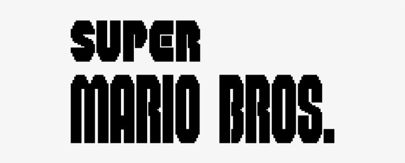 Super Mario Bros - Super Mario Bros Title, transparent png #1685198