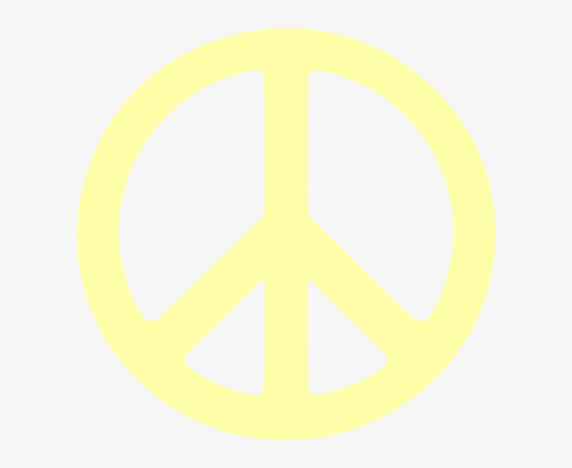 Printable Peace Sign Template - Hi Res Peace Sign, transparent png #1687732