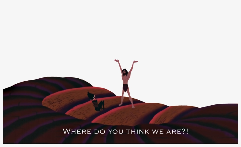 Where Do You Think We Are Red - Samurai Jack Where Do You Think We, transparent png #1688641