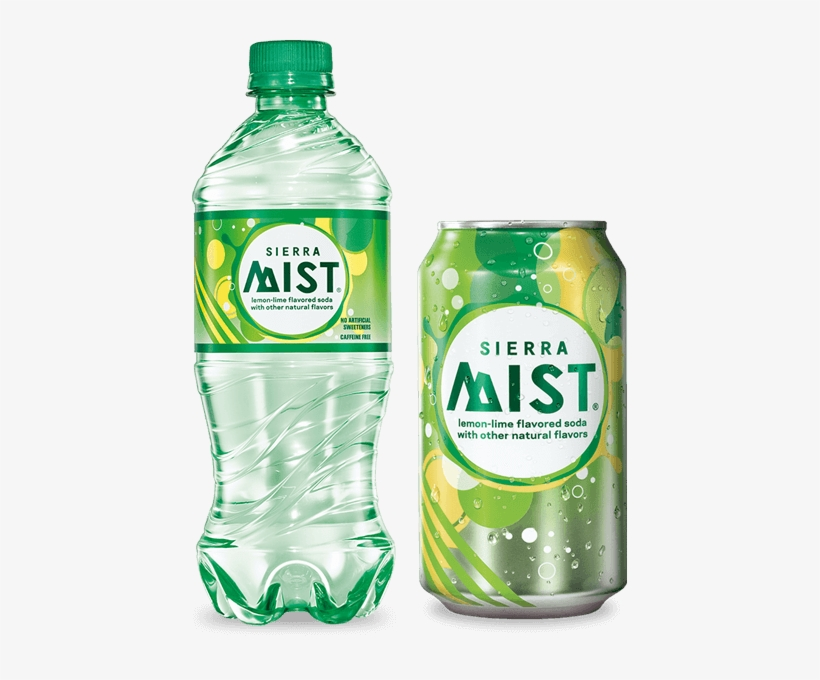 Sierra Mist Visual Identity System And Packaging - Sierra Mist Lemon-lime Soda -, transparent png #1688989