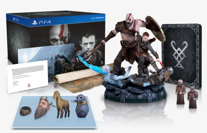 God Of War™ Collector's Edition At Myr - God Of War Collector Edition, transparent png #1689338