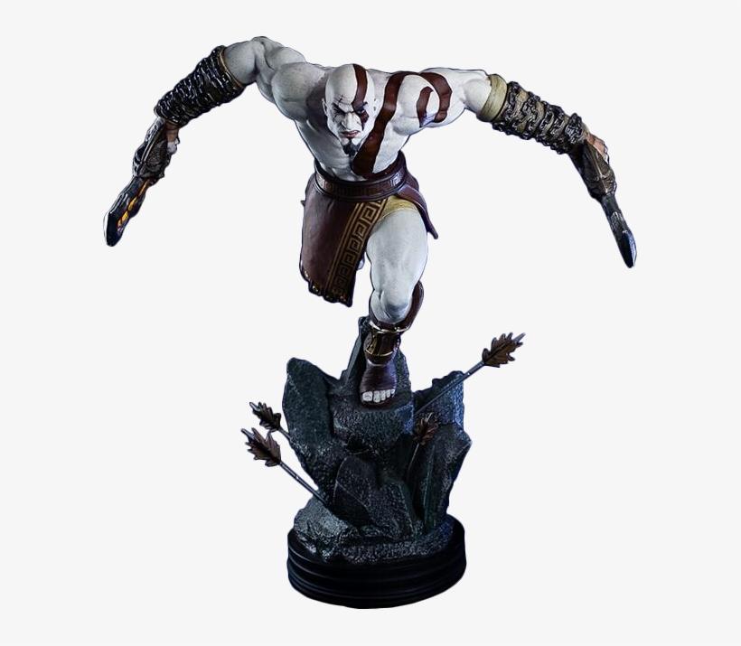God Of War - God Of War Kratos 1/4 Statue, transparent png #1689448