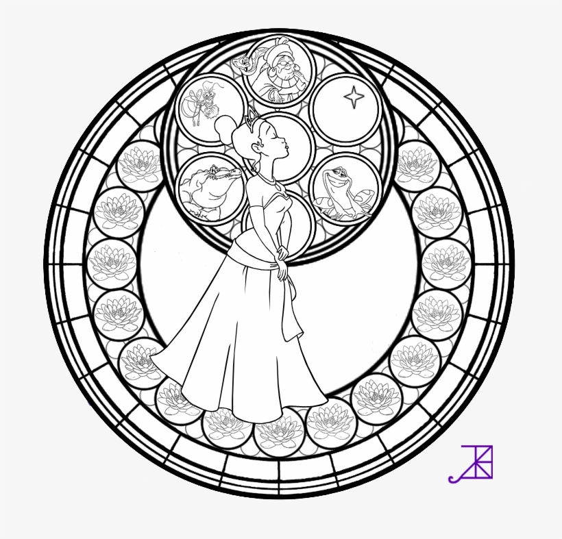Jpg Free Stock Alice Drawing Coloring Page - Disney Mandala Coloring Pages, transparent png #1689660