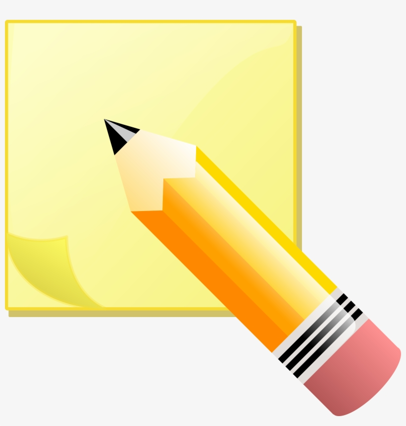 Open - Write On A Post It Note, transparent png #1690908
