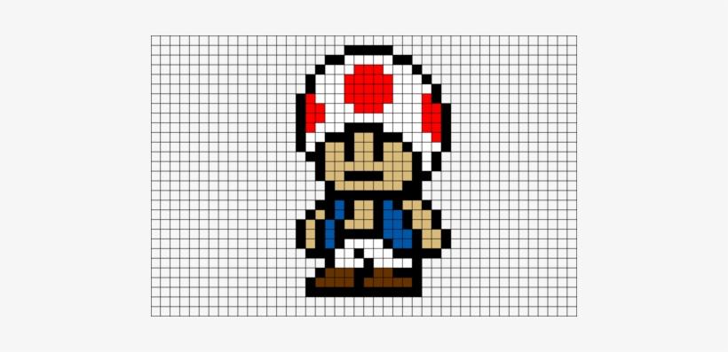 Dessin Pixel Art Mario Bros