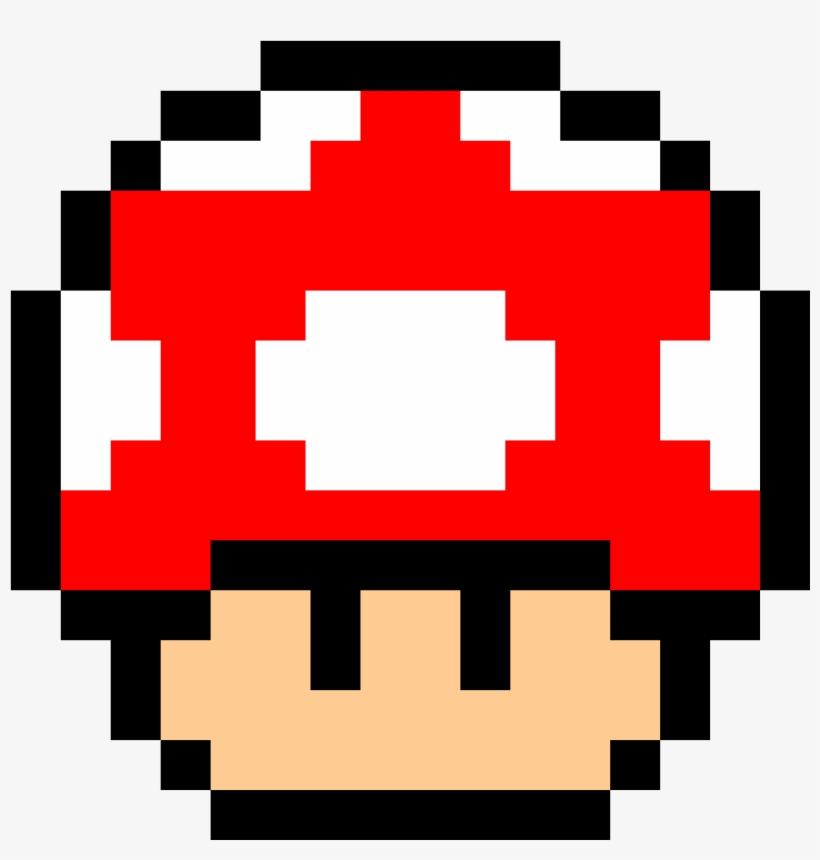 Mario Green Mushroom Pixel Free Transparent Png Download